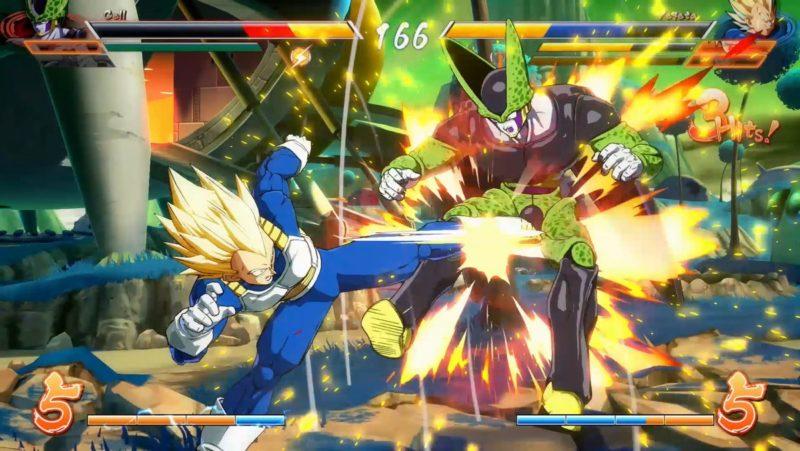 Dragon Ball FighterZ - World Tour Vegeta vs Cell
