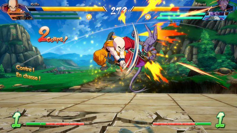 Dragon Ball FighterZ - World Tour Krilin vs Beerus