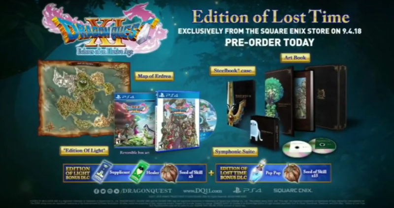 Dragon Quest XI Edition of the Lost Time