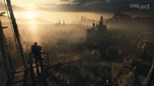 Dying Light 2 couché de soleil gameplay