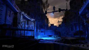 Dying Light 2 artwork bleu