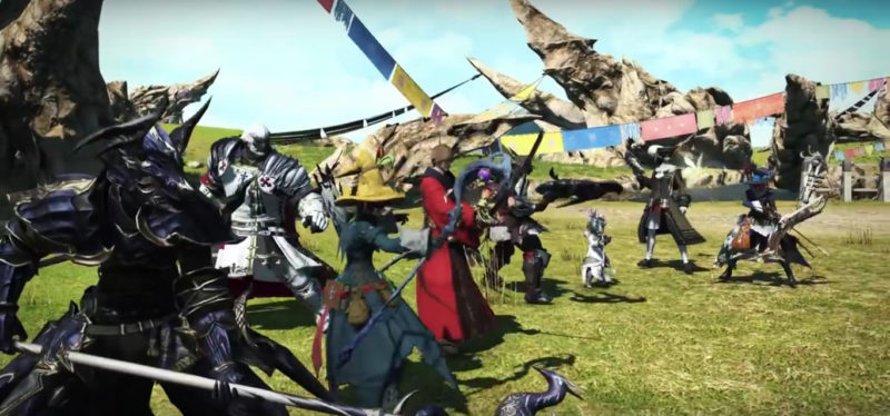 Final Fantasy XIV joueurs
