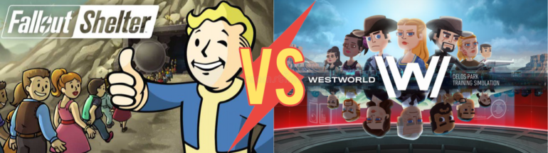 Fallout Shelter vs. Westworld frictions