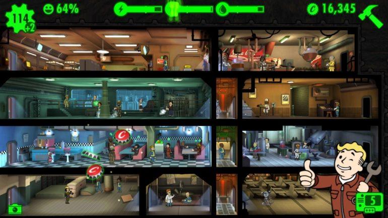 Fallout Shelter - le succès dans la cave