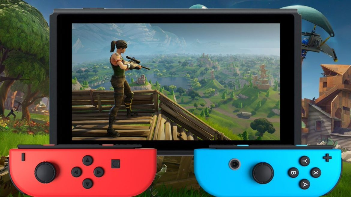 Fortnite arrive sur Switch