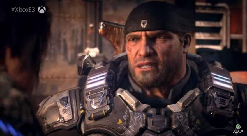 Gears of War 5 Marcus Fenix