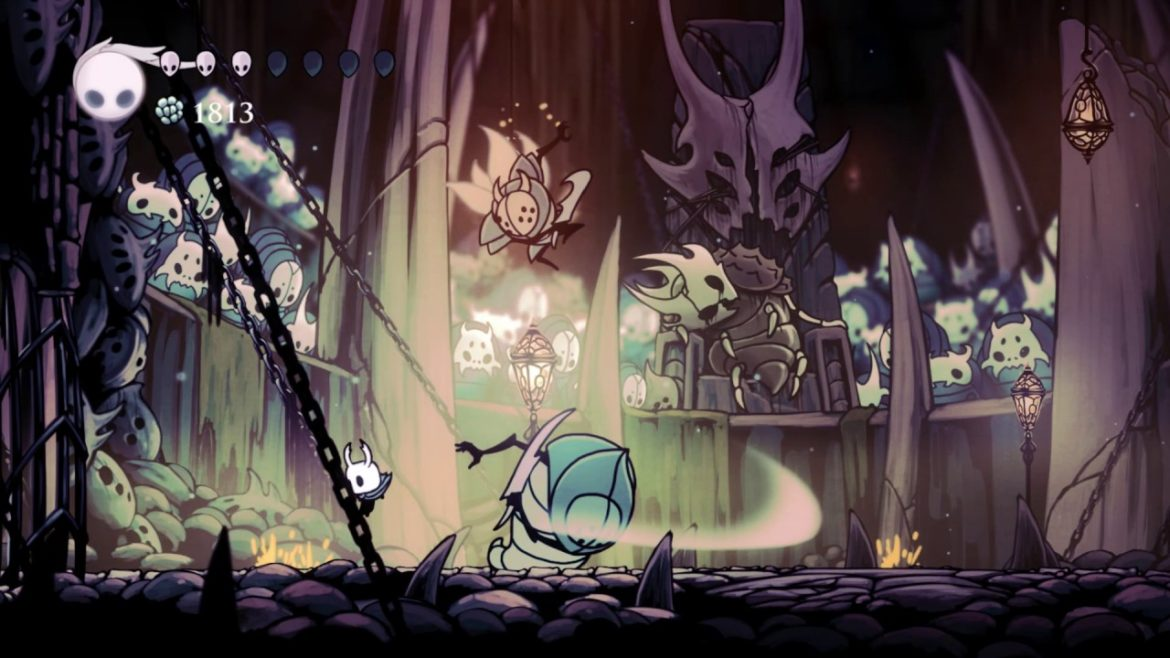 Hollow Knight insectes