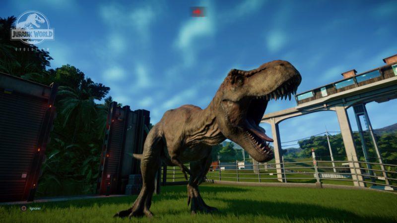 Jurassic World Evolution Tyrannosaure