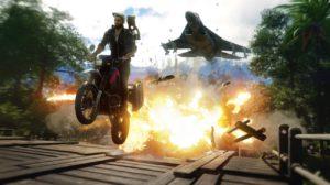 Just cause 4 moto gameplay