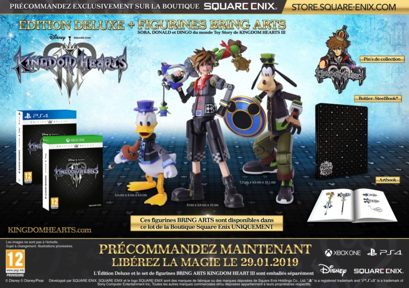 Kingdom Hearts III Edition Deluxe Bundle