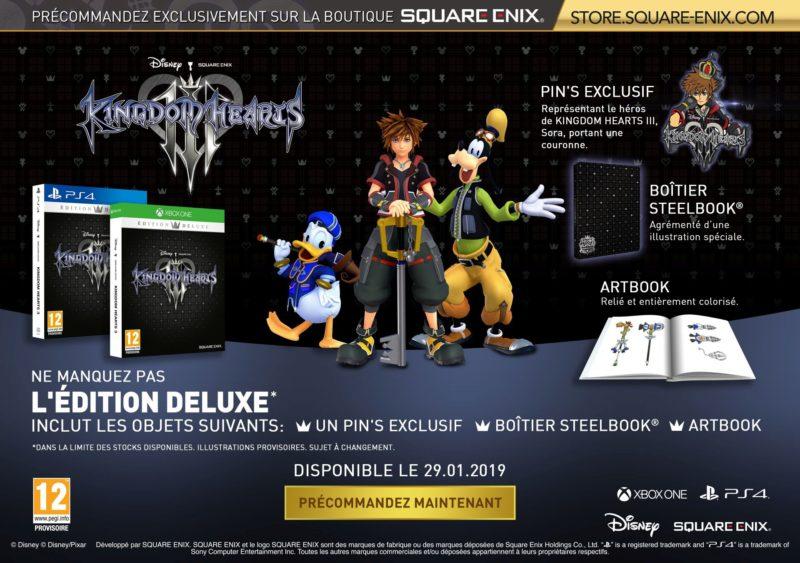 Kingdom Hearts III Edition Deluxe