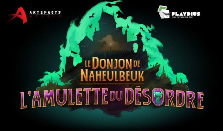 Le Donjon de Naheulbeuk: L'Amulette du Désordre Logo
