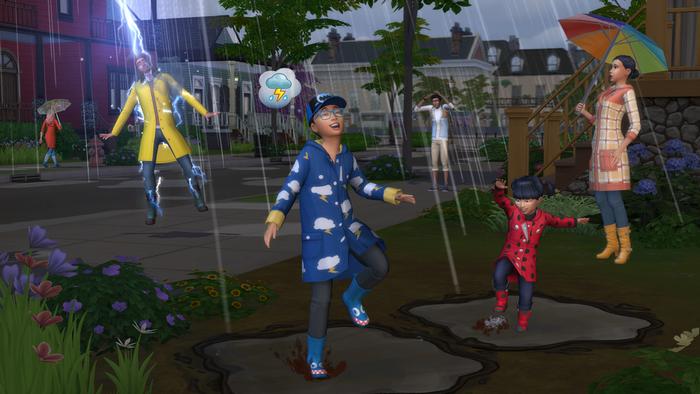 Les Sims 4 : Saisons pluie