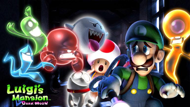 Luigi's Mansion - des fantômes