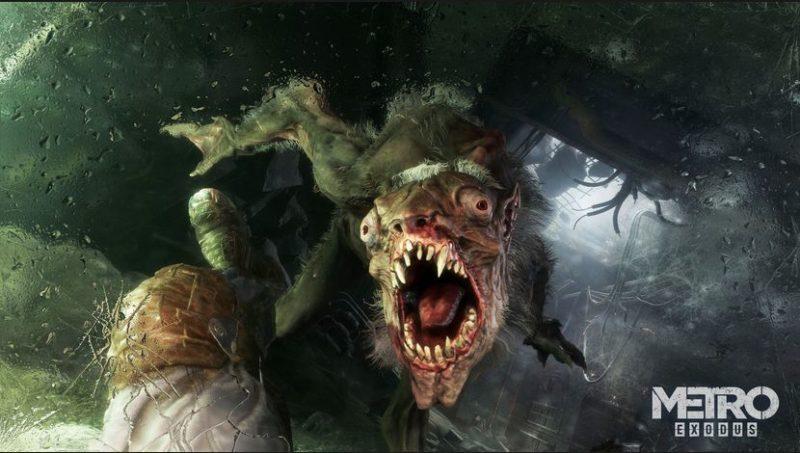 Metro Exodus un monstre attaque et il a mauvaise haleine