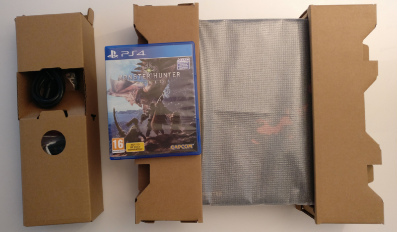 Monster Hunter World - PS4 Pro sortie