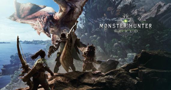 Monster Hunter World - artwork rathalos chasseurs