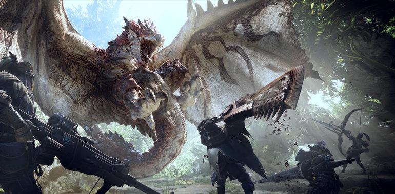 Monster Hunter World Combat
