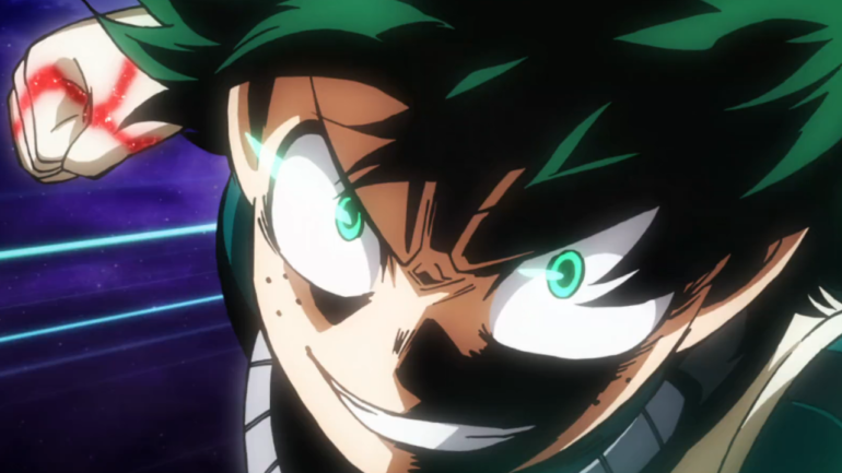 My Hero One's Justice deku