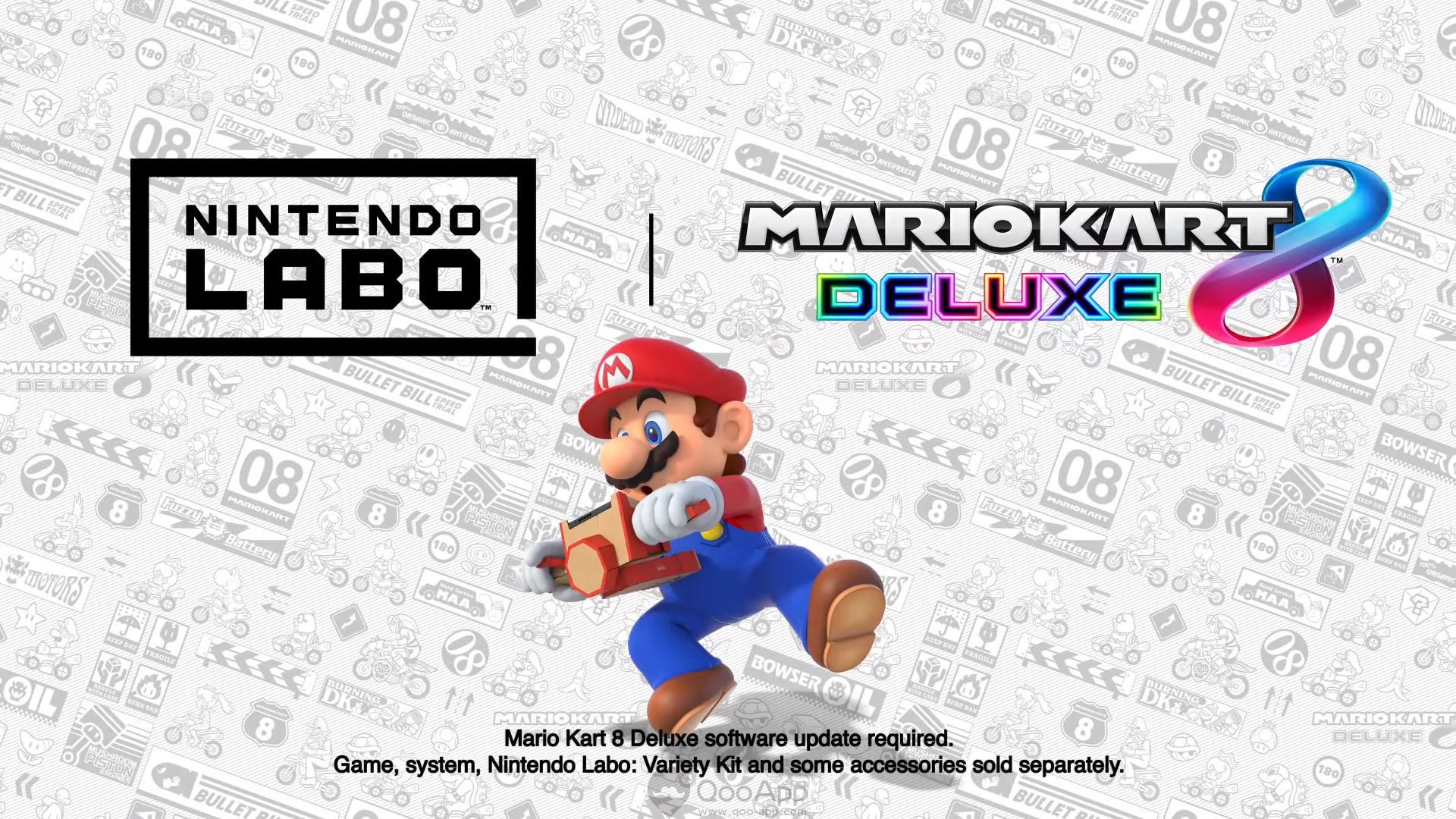 Nintendo Labo compatible avec Mario Kart 8 Deluxe