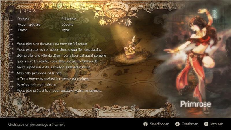 Octopath Traveler - Primrose