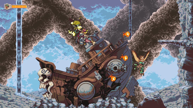 Owlboy navire pirate