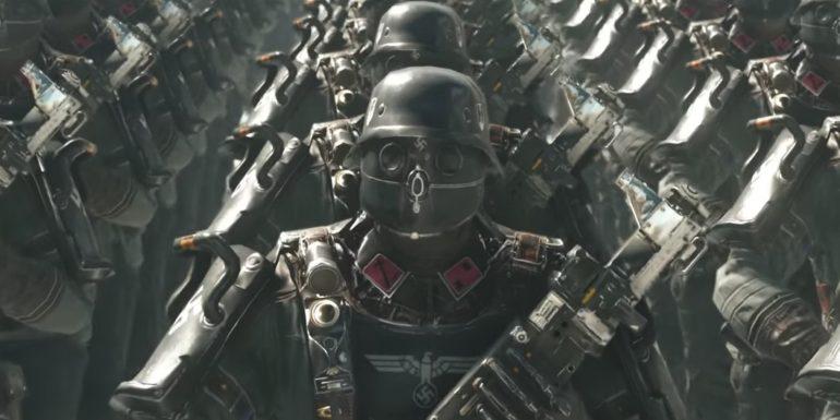 Panic Button - Des soldats nazis du futuuuuuur
