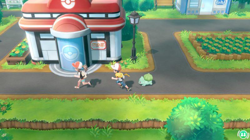 Pokémon Let's Go Centre Pokémon