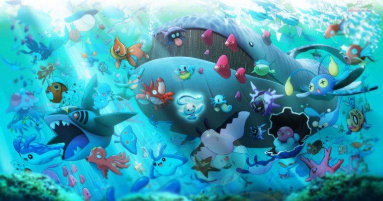Pokémon GO - des pokémon eau