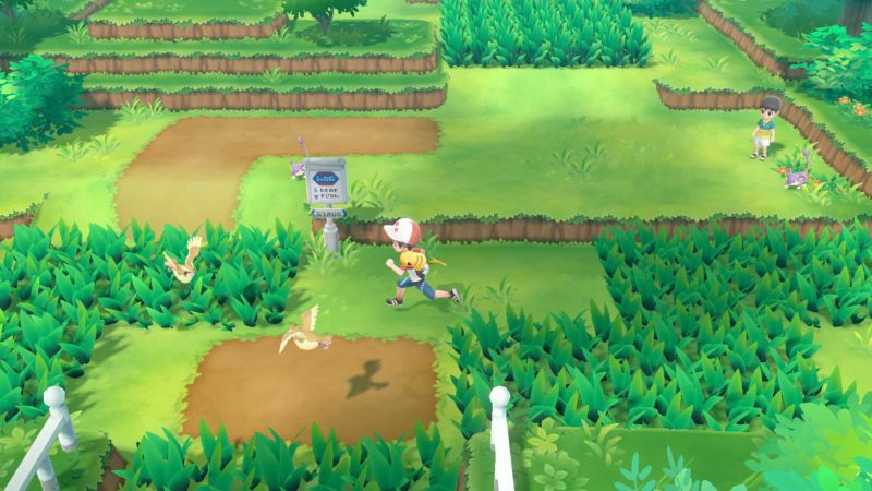 Pokémon Let's Go Forêt de Jade