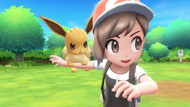 Pokémon Let's Go Evoli à l'attaque