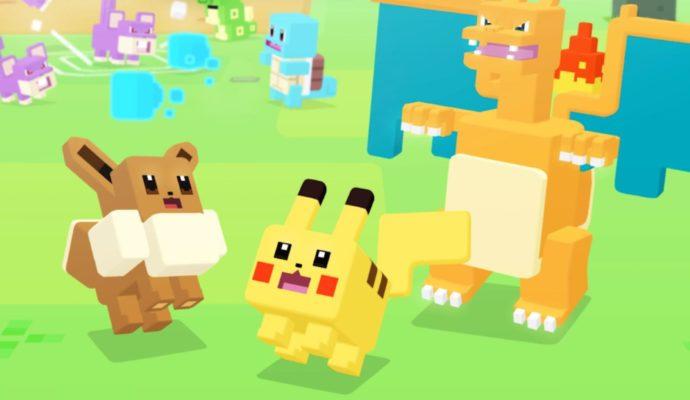 Pokémon Quest équipe