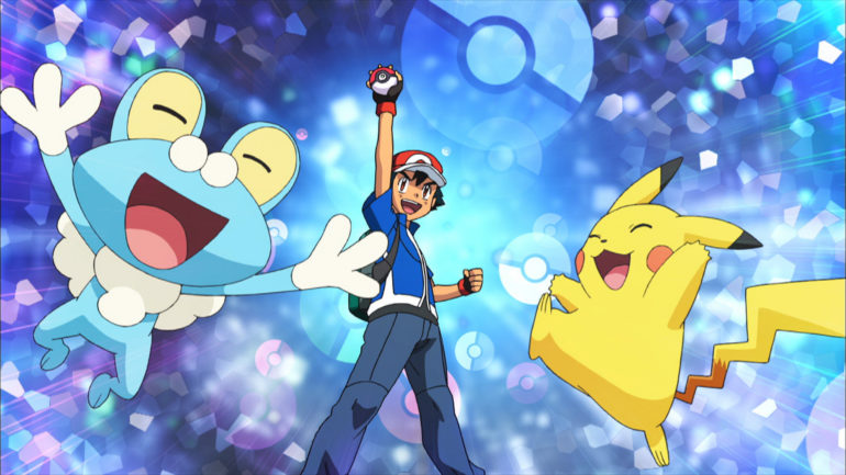 Pokemon 2019 - screenshot dessin animé