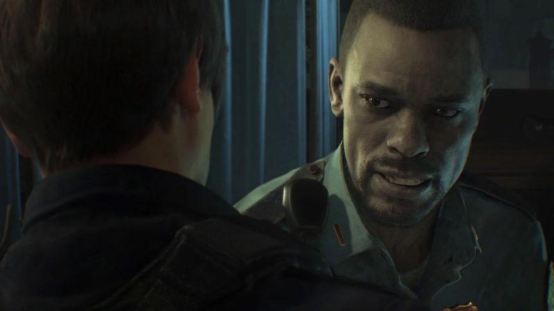 Resident Evil 2 Marvin Brannagh