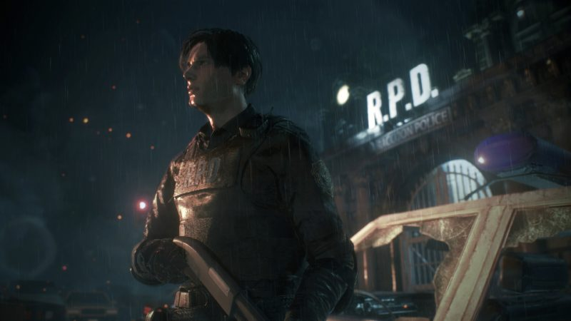 Resident Evil 2 Remake-Leon