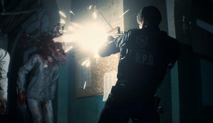 Resident Evil 2 Remake-Leon-Tire