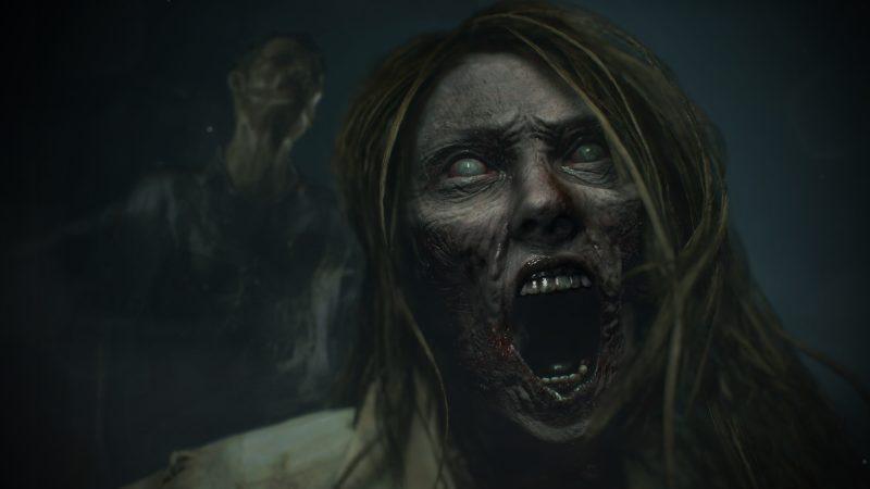 Resident Evil 2 Remake Zombi-Femme