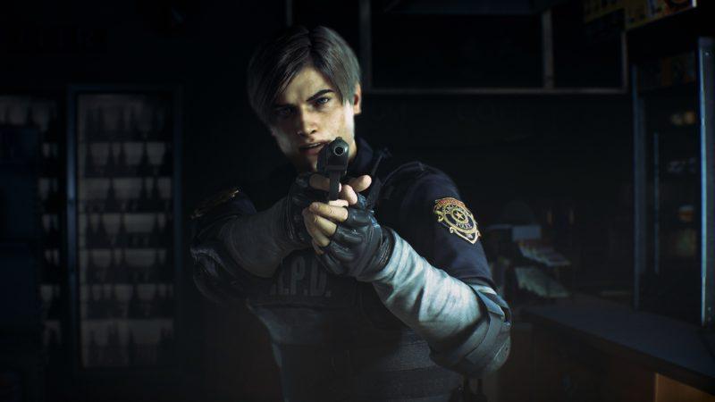 Resident Evil 2 Remake-Leon-Vise