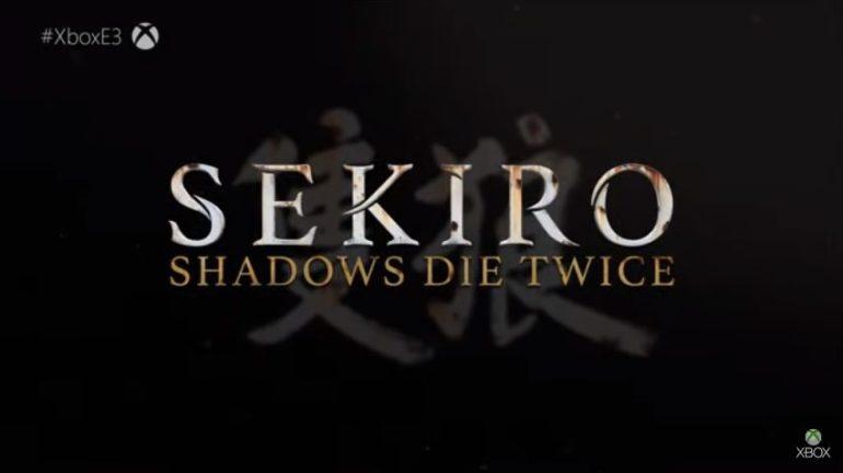 Sekiro Shadow Die Twice logo