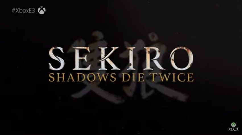Sekiro Shadow Die Twice logo