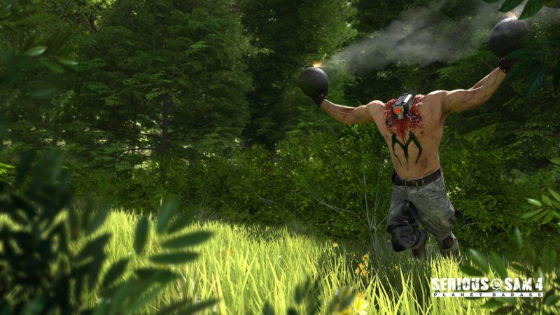 Serious Sam 4 gameplay kamikaze