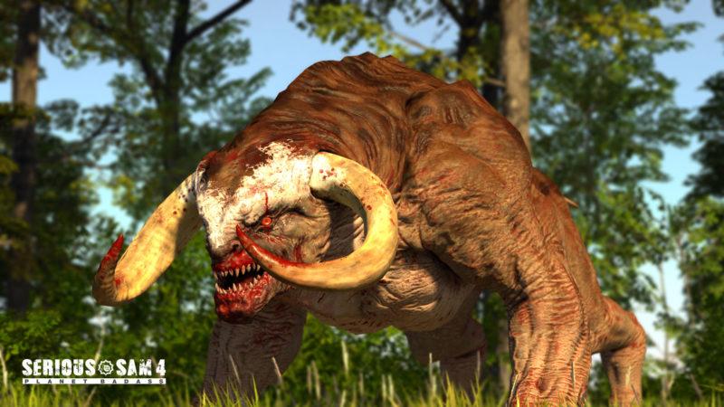 Serious Sam 4 monstre bestiaire