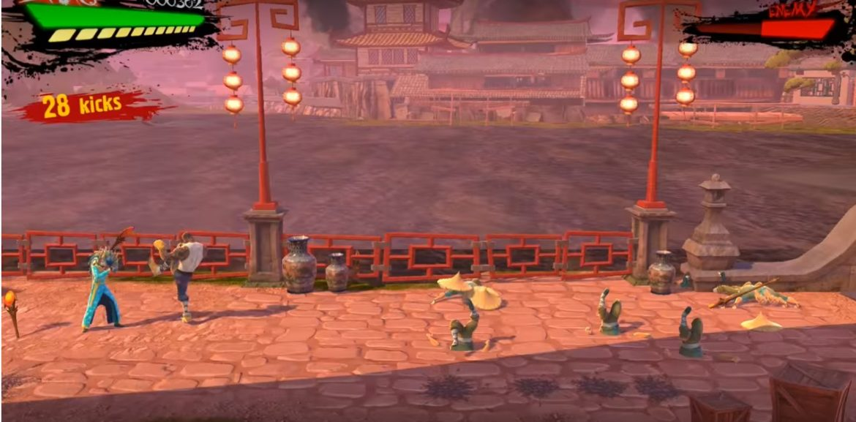 Shaq Fu combat