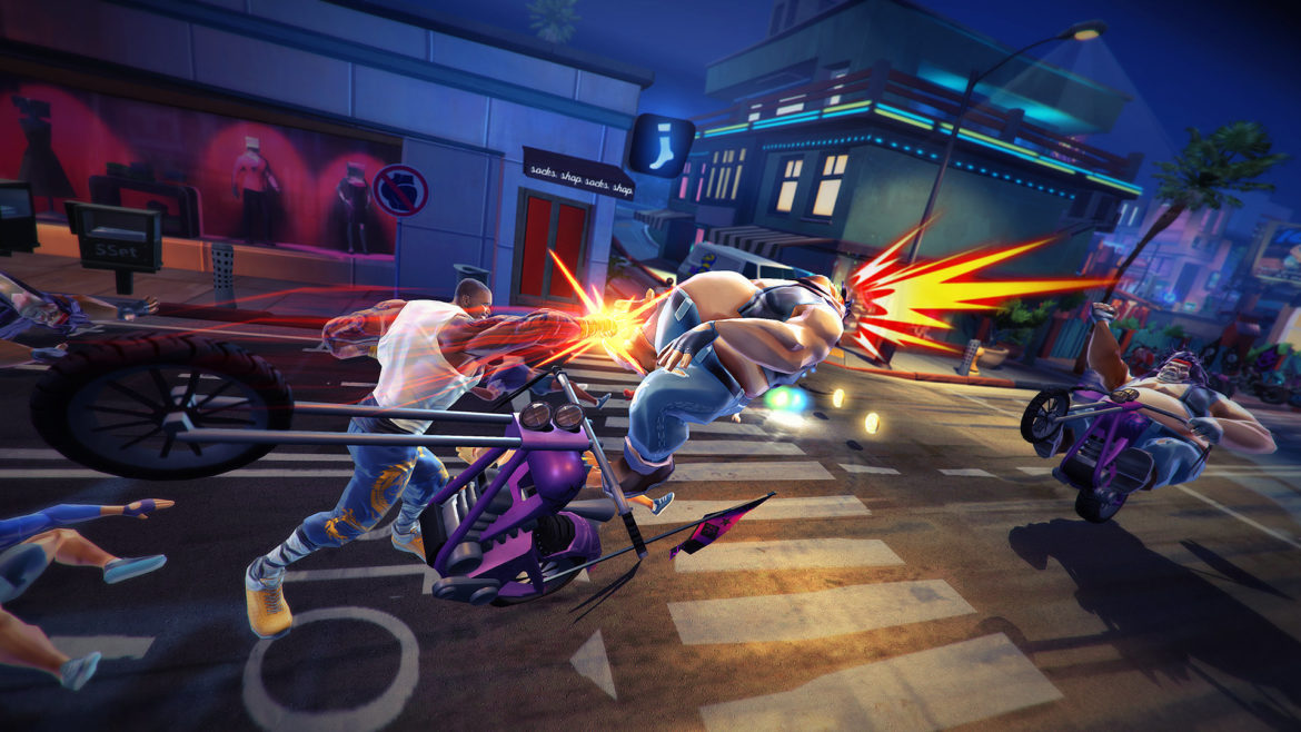 Shaq Fu: A Legend Reborn motards