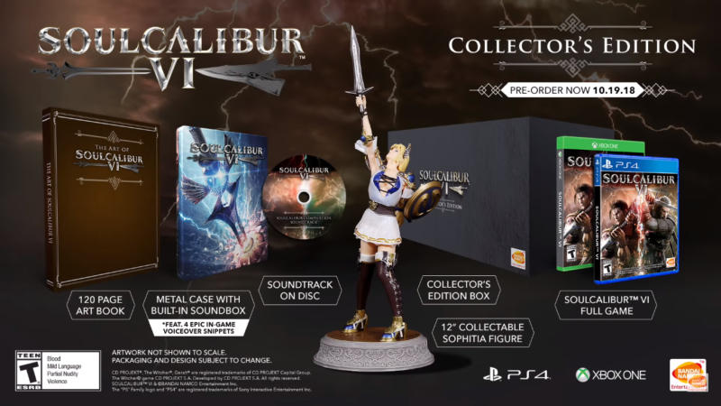 Soulcalibur VI - collector edition