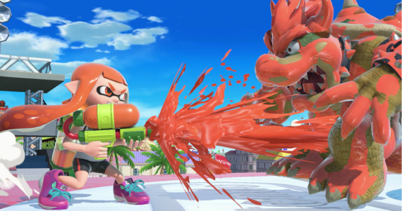 Super Smash Bros Ultimate - Splatoon