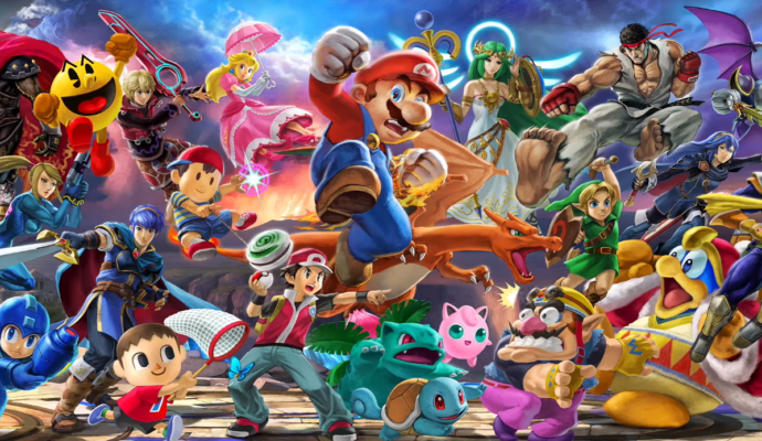 Super Smash Bros Ultimate - ils sont tous là