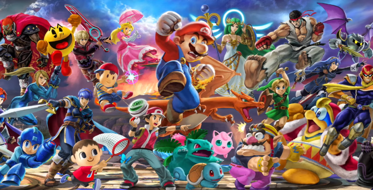 Super Smash Bros. Ultimate Direct- ils sont tous là