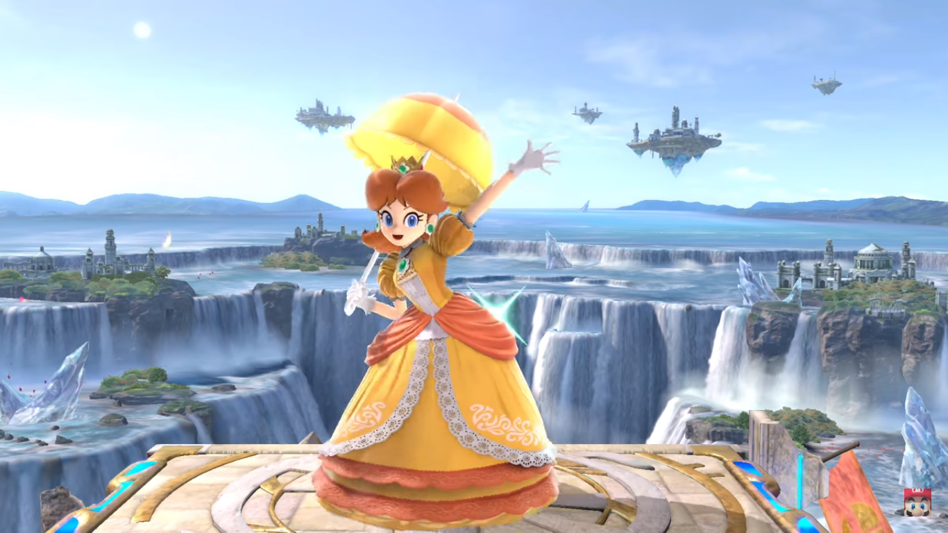 Super Smash Bros. Ultimate - Daisy arrive