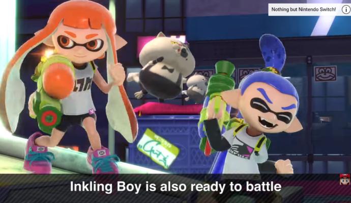 Super Smash Bros. Ultimate - les Inklings arrivent